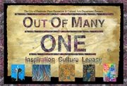 Out of Many ONE  opening soon at  Studio 18 in the Pines