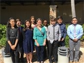 Heading to the Broward County Science Fair  - PPCMS Central Students