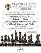 Community Invited to Second Annual Mayor's Chess Challenge