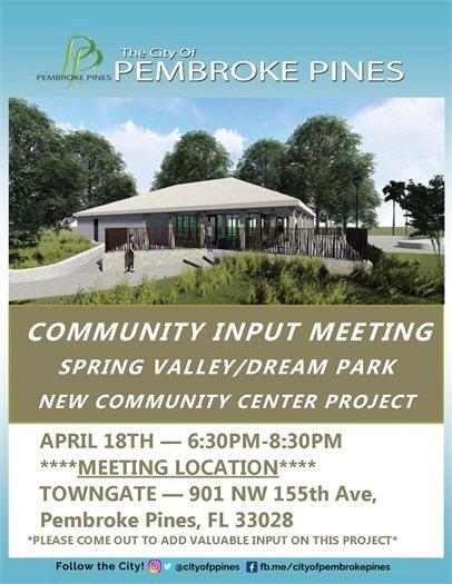 Community Input Meeting