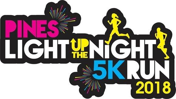 Pines Light Up the Night 5k run