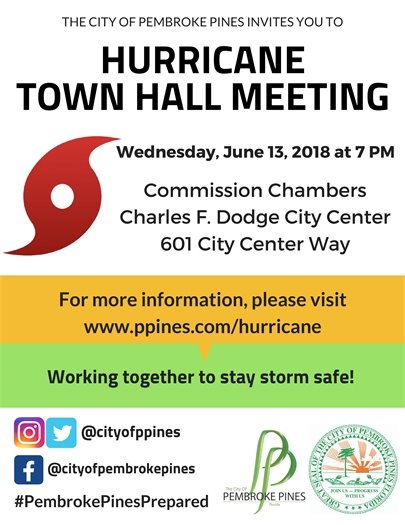 Hurricane Town Hall Meeting