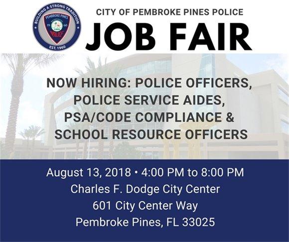 Police Job Fair