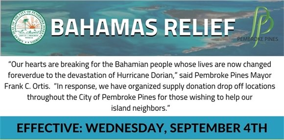Bahamas Donations