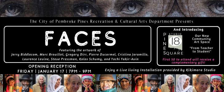 Faces Exhibit 2nd Edition of Poster