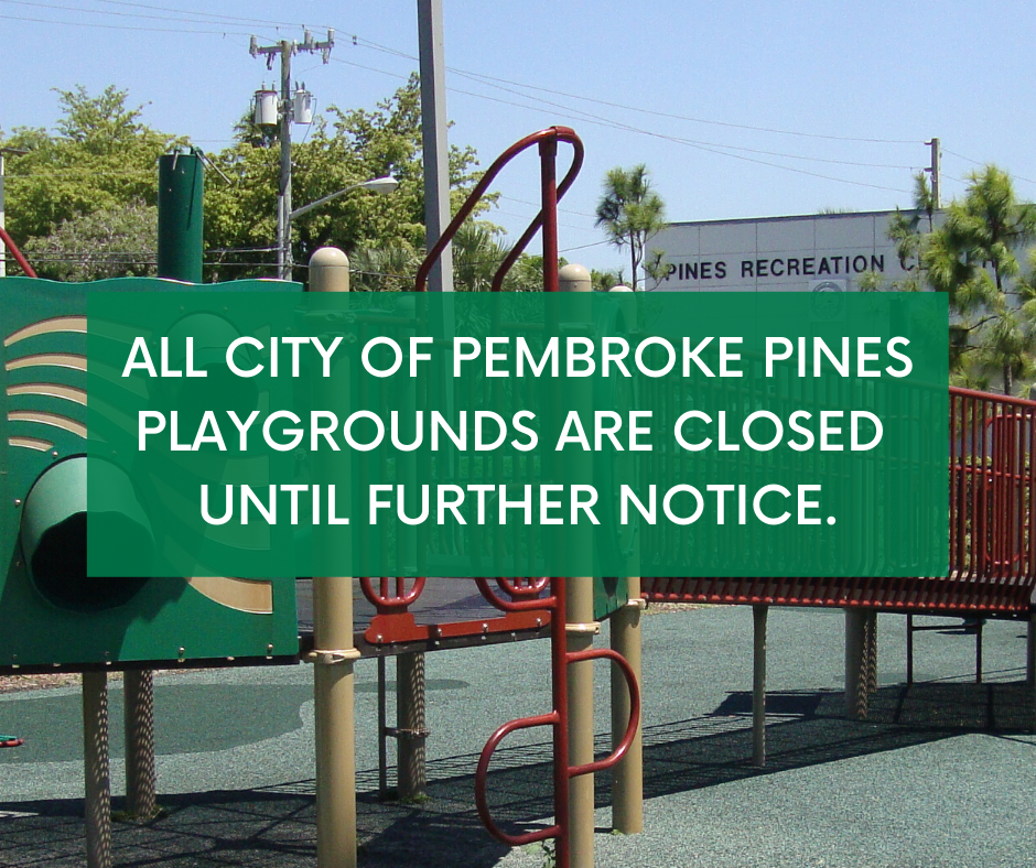 pines playground closing