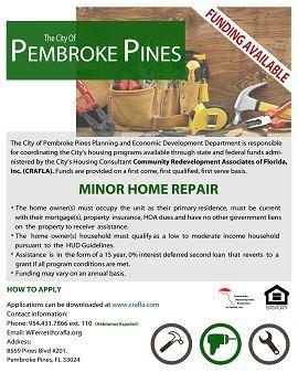 Minor Home Repair Funding