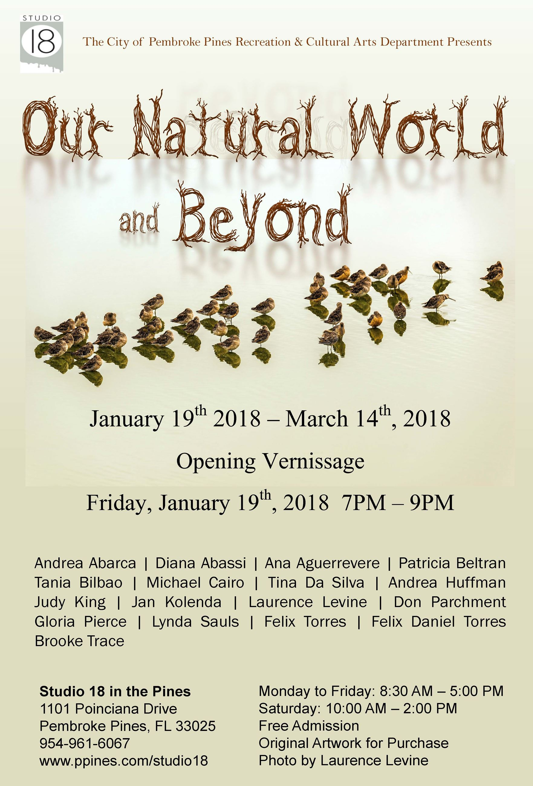 Our Natural World  Beyond Poster