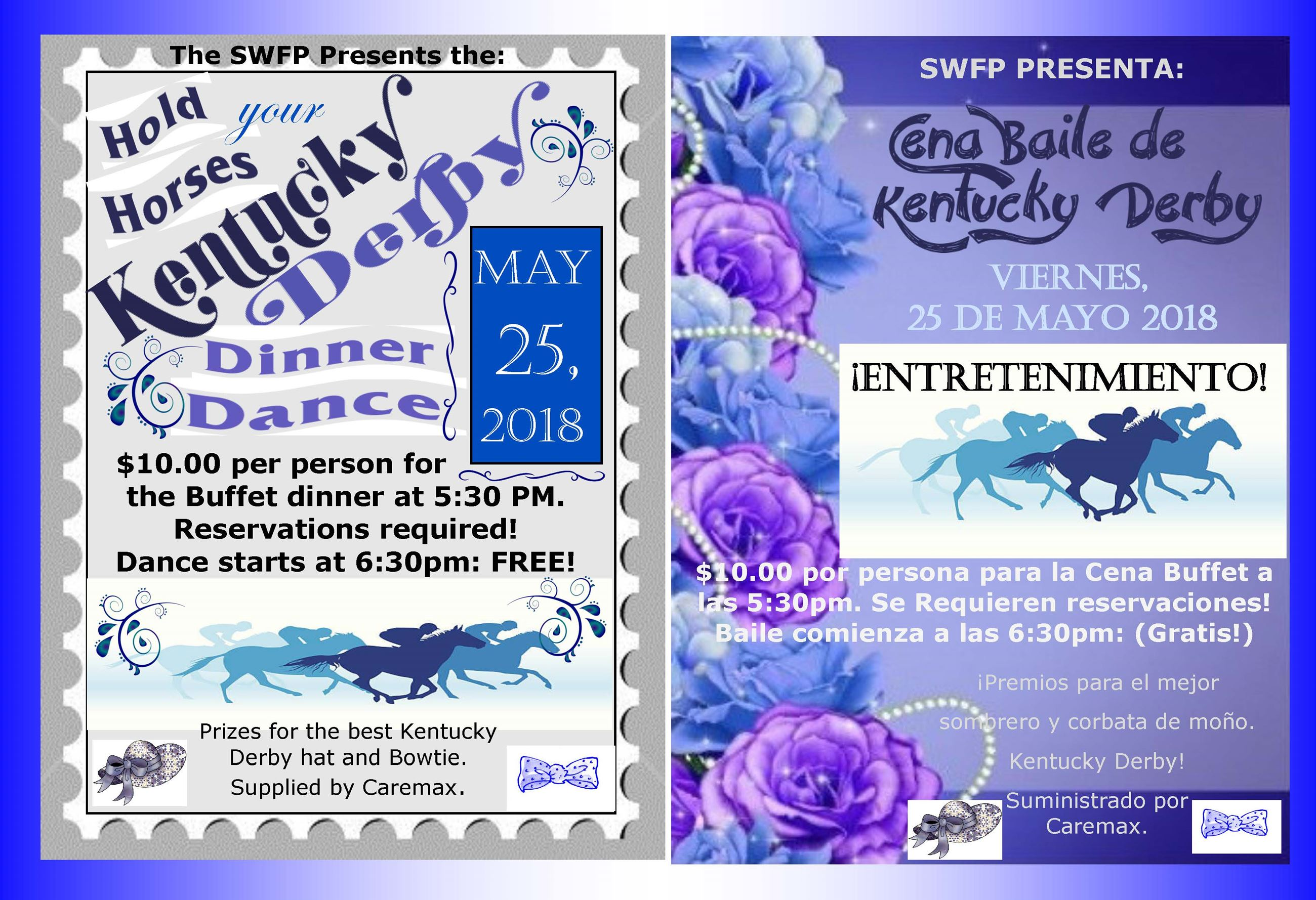 kentucky derby dinner dance 5-25-18