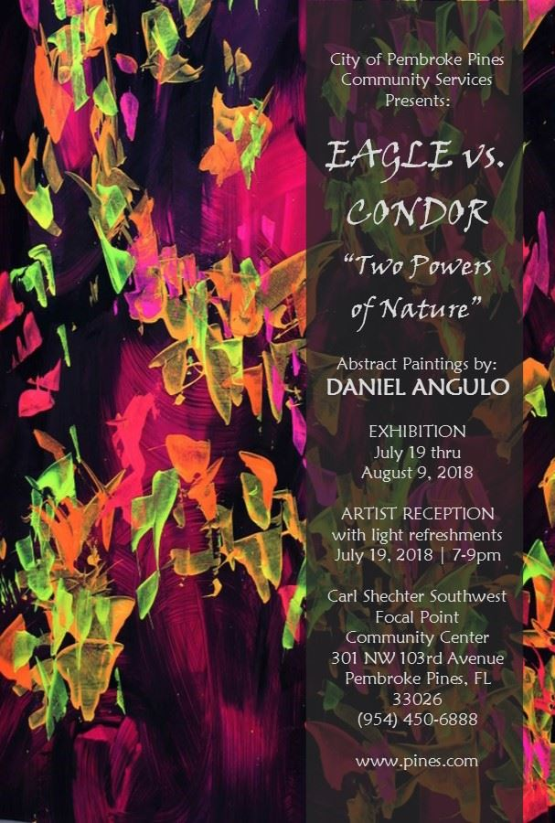 Daniel Angulo art exhibit advertising PC 7-19-18 web version