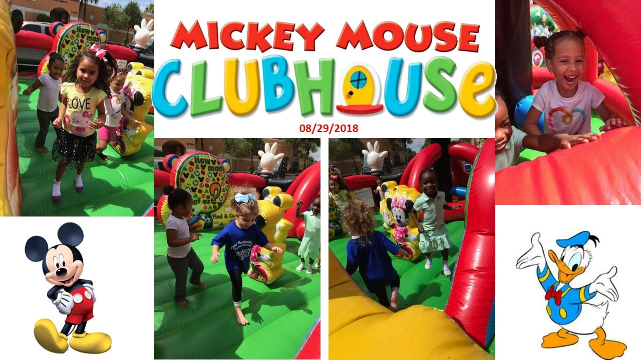 bounce house Mickey