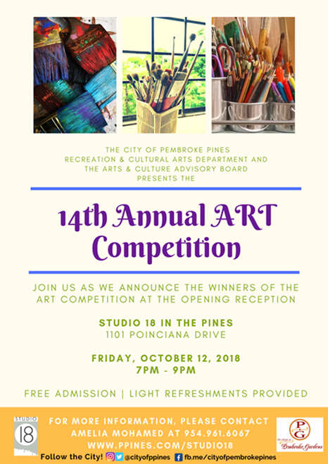 Art Competition 2018 Advertisement