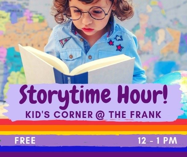 Storytime at the Frank