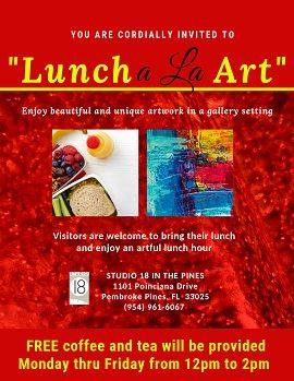 Lunch a La Art-web