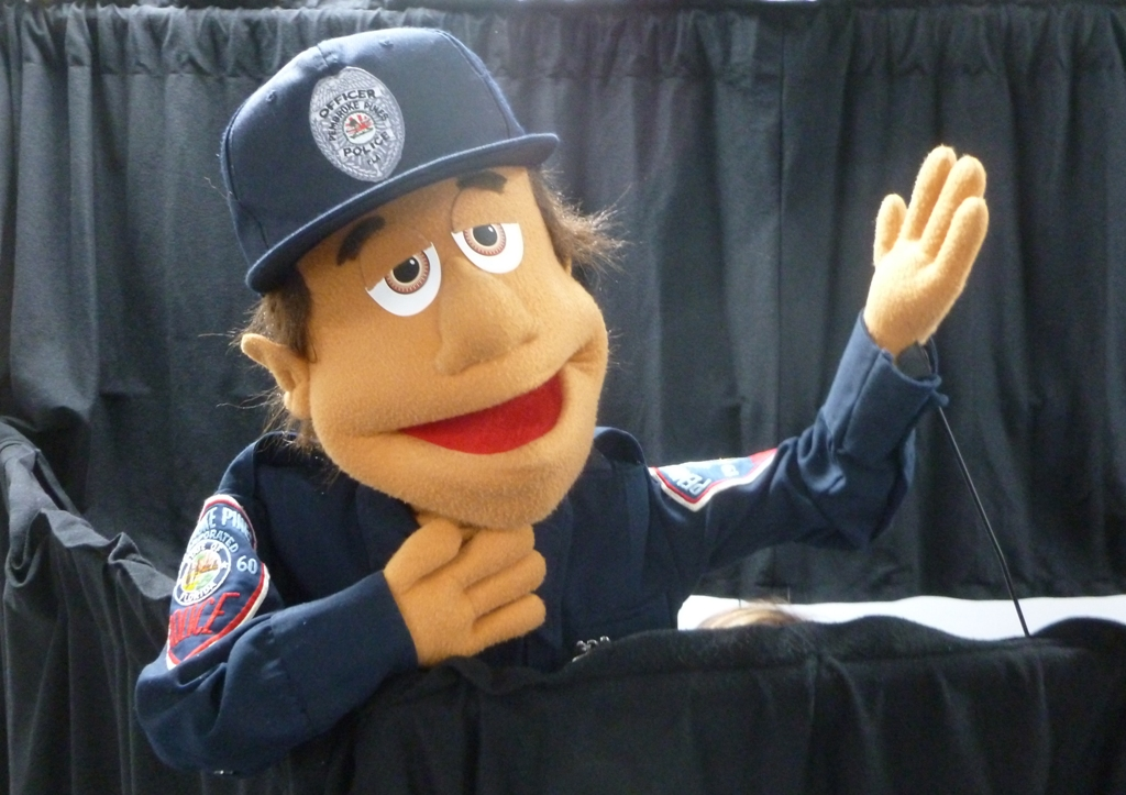 Officer Ollie from Puppet Shows