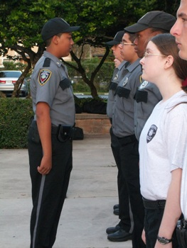 Explorer uniform inspection