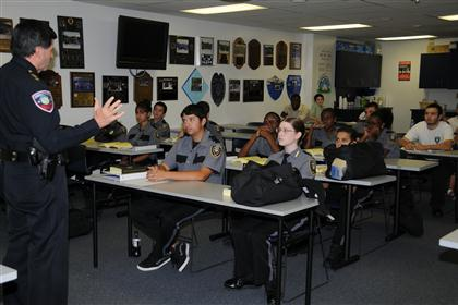 Explorer Post classroom training
