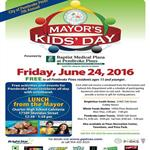 Mayor's Kids Day