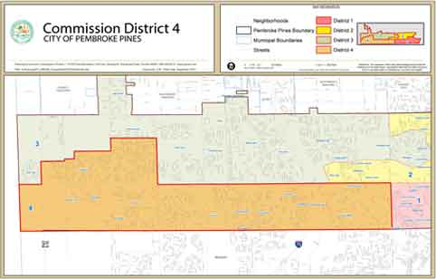 Commission District 4 Map