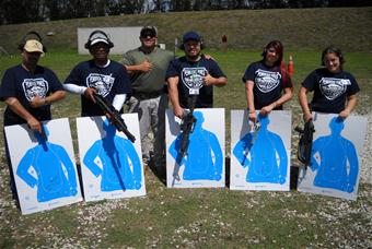 Citizens Academy at Shooting Range