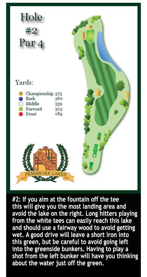 Pembroke Pines Fl Official Website Hole 02